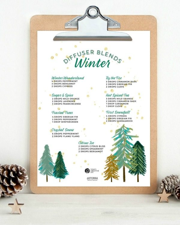 Winter Diffuser Blends Essential Oils