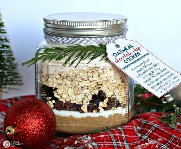 Oatmeal Cookie Mix In A Jar Recipe Today S Creative Life