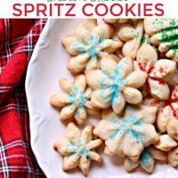 Cream Cheese Spritz Cookie Recipe
