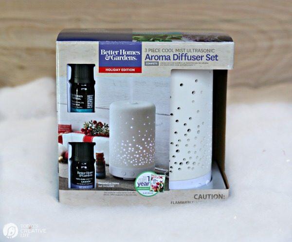Essential Oil Diffuser gift set | todayscreativelife.com