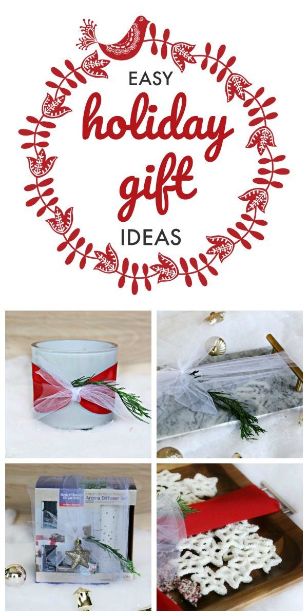 Budget Friendly Holiday Gift Ideas | Christmas Gifts under $25 | Easy Gift Ideas | Easy gift wrapping ideas | TodaysCreativeLife.com #BHGLIvebetter #ad