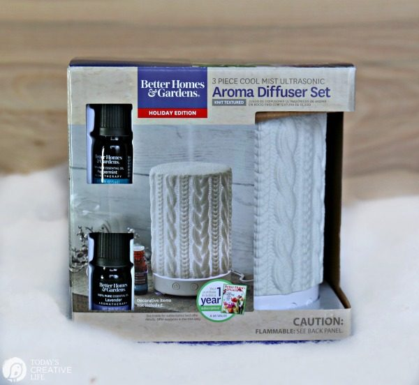 Budget Friendly Holiday Gift Ideas | Essential Oil Diffuser | TodaysCreativeLife.com