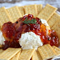 Pepper Jelly Cream Cheese Party Dip