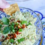 Chipotle Pepper Guacamole Recipe | Football Food | Game Day Food | TodaysCreativeLife.com
