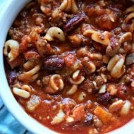 Copy Cat Slow Cooker Pasta Fagioli Soup