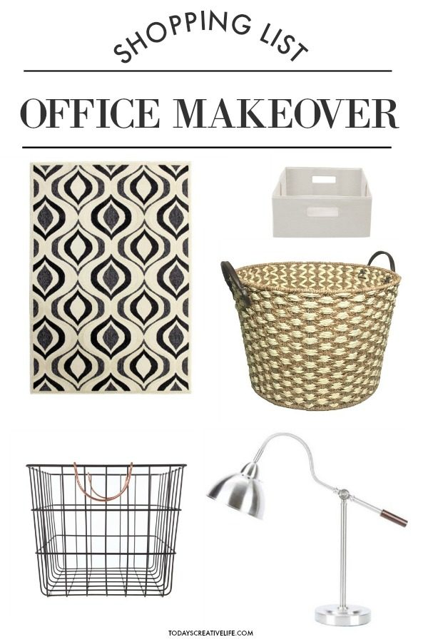 Budget-Friendly Office Makeover | Find easy solutions for organizing your space.