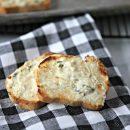 Garlic Cheese Spread Toast