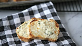 Creamy Garlic Cheese Bread