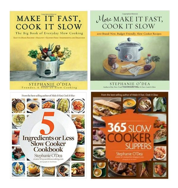 Slow Cooker Recipe Books by Stephanie ODea