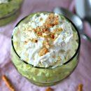 Pineapple Fluff with Pretzels | Salad, Dessert or Dip | todayscreativelife.com