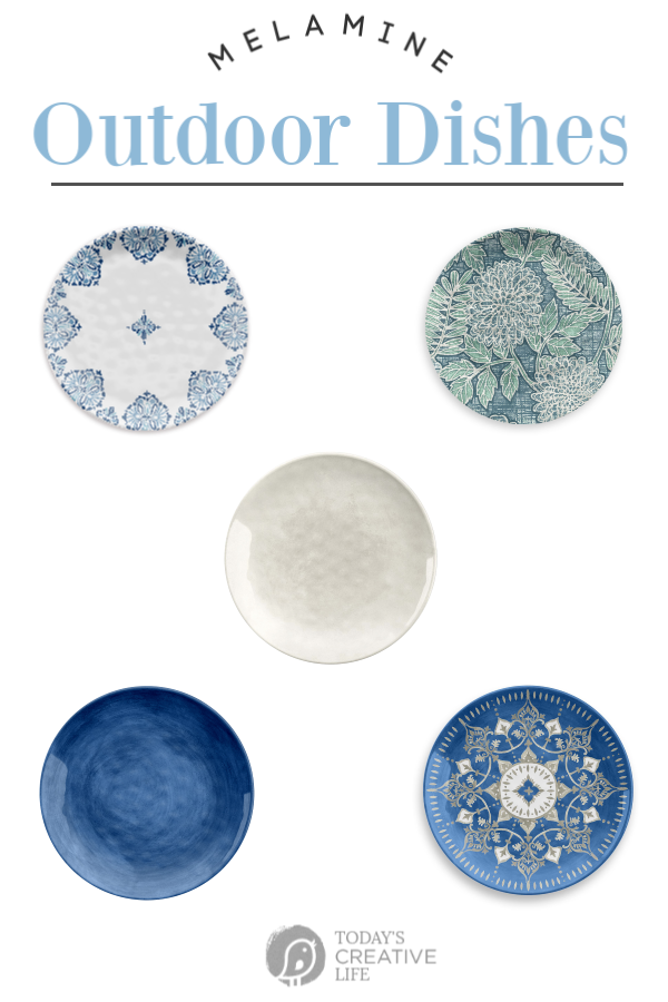 Melamine Dishes | Budget friendly | Todayscreativelife.com