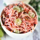 Classic Pina Colada Carrot Salad Recipe | TodaysCreativeLife.com