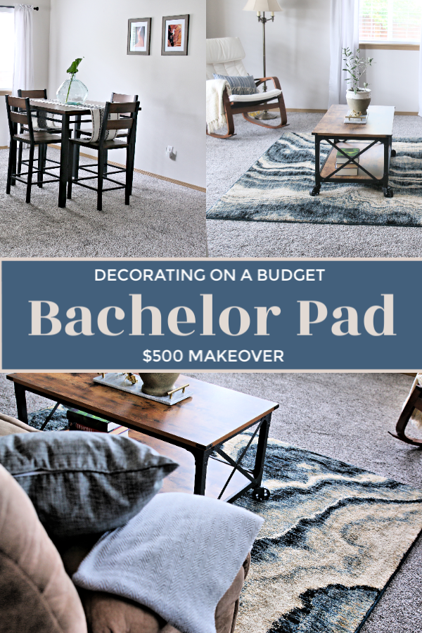 Bachelor Pad Decorating on A Budget | Decorating for men | Home decor for young men | Inexpensive home decor ideas for men | masculine home decor ideas | TodaysCreativeLife.com
