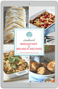 Breakfast and Brunch Recipe book