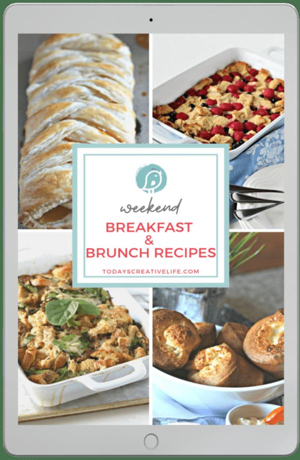Breakfast and Brunch Recipe book