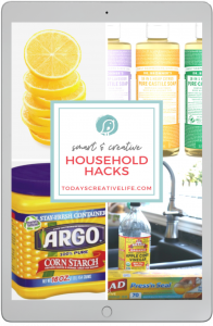 Smart Household Hacks for cleaning ebook