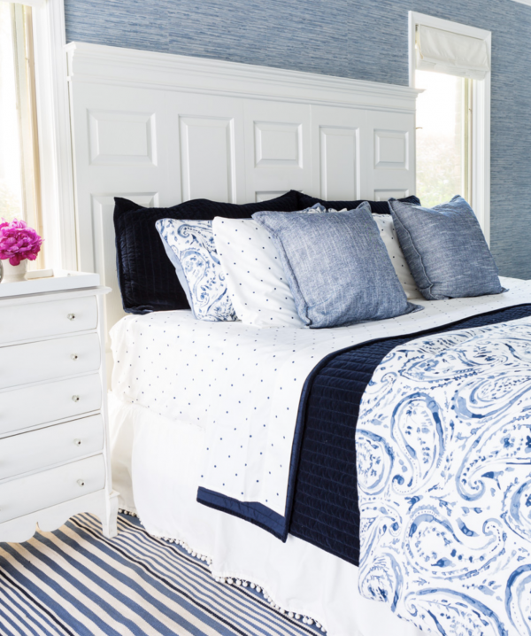 Blue and White Bedroom from In My Own Style