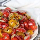 Tomato Salad with Buttermilk Vinaigrette Recipe | TodaysCreativeLife.com
