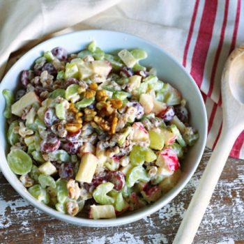 Waldorf Salad Recipe | TodaysCreativeLife.com