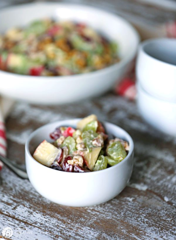 Classic Waldorf Salad Recipe | TodaysCreativeLife.com
