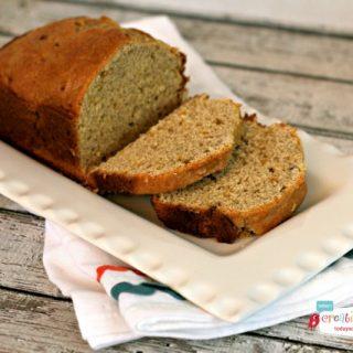 Banana Mango Coconut Milk Bread
