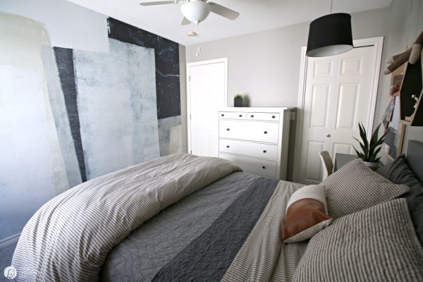 Boy Bedroom Makeover Ideas | Wall Decor for Boys | TodaysCreativeLife.com Wall Mural by Minted.