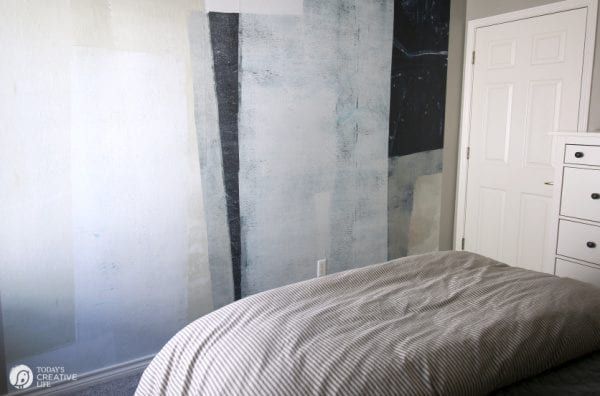 Abstract Wall Mural by Minted in Neutrals | TodaysCreativeLife