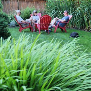 summer yard relaxing | todayscreativelife.com