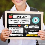 First Day of School Photo Printables