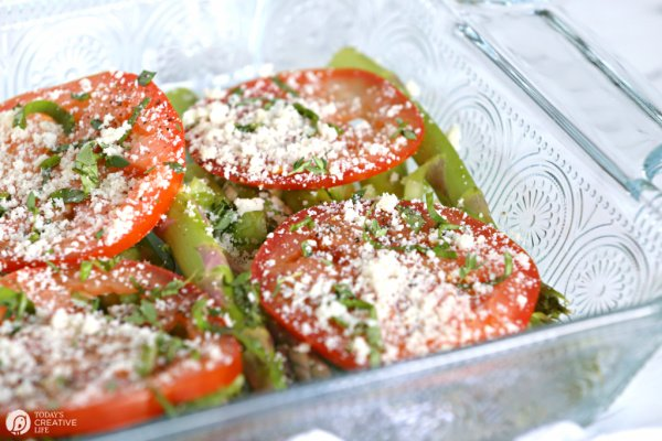 Asparagus and tomato side dish recipe