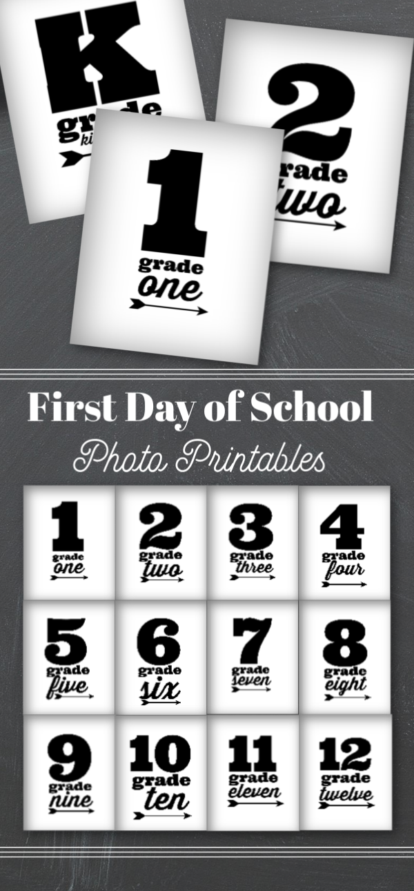 picture relating to First Day of School Printable named Printable 1st Working day of College Image Symptoms Todays Innovative
