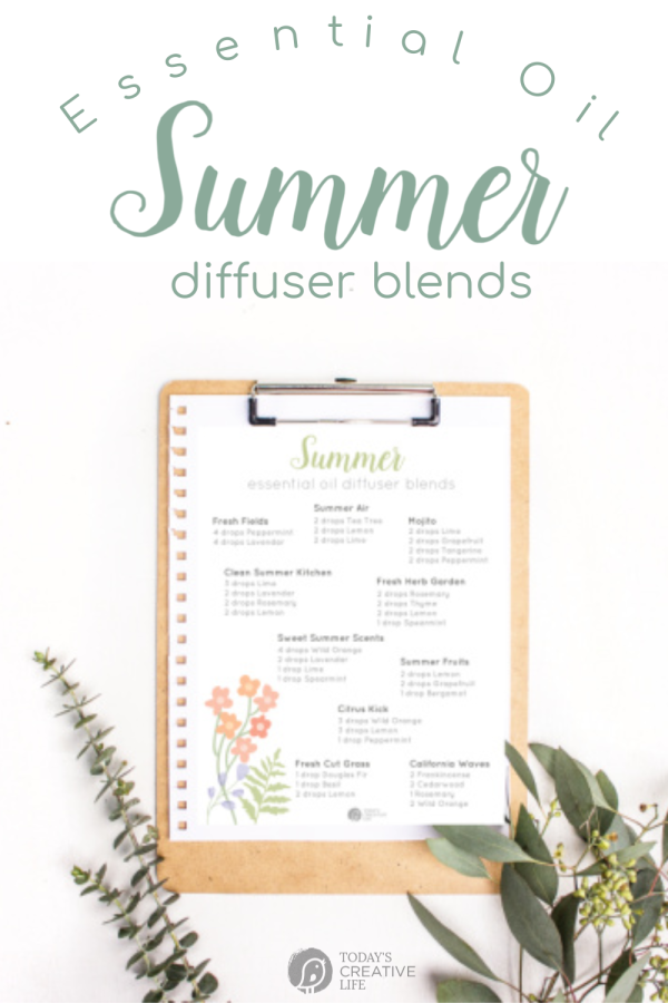 essential oil diffuser blend recipes