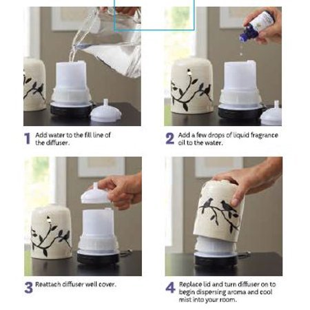 how to use a diffuser directions