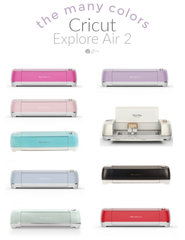 Cricut Explore Air 2 Colors