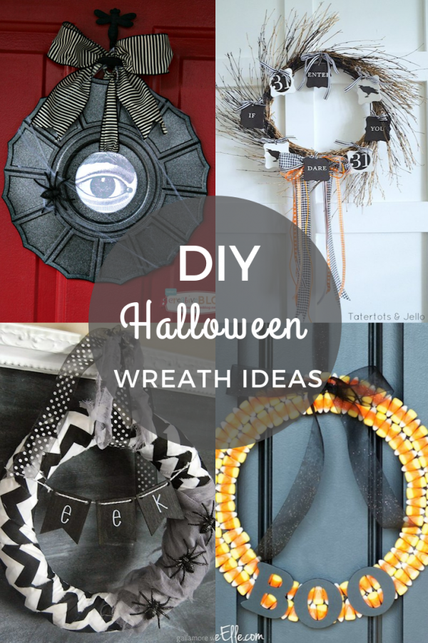DIY Halloween Wreath Ideas