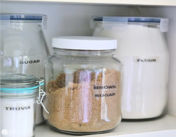 Jars for food storage