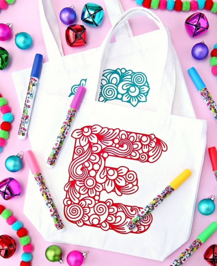 Create Personalized Color Your Own Gift Bags