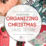 Organized Christmas Storage Ideas