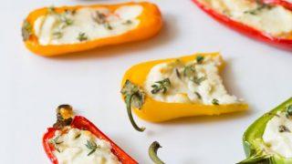 3-Ingredient Mini Stuffed Peppers Recipe