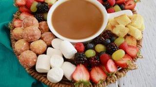 Dessert Fondue: Easy Date Night Dessert!