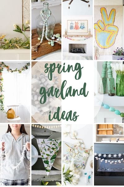 Photo Collage for spring decorating ideas