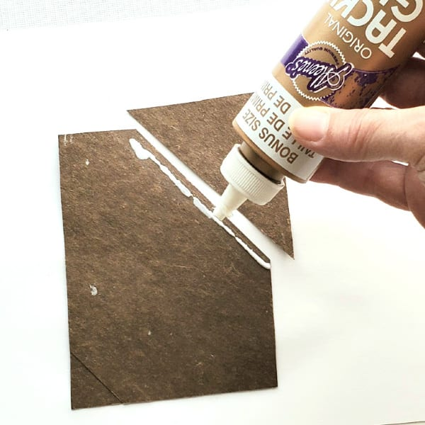 Gluing paper together