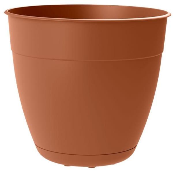 plastic terra-cotta planter