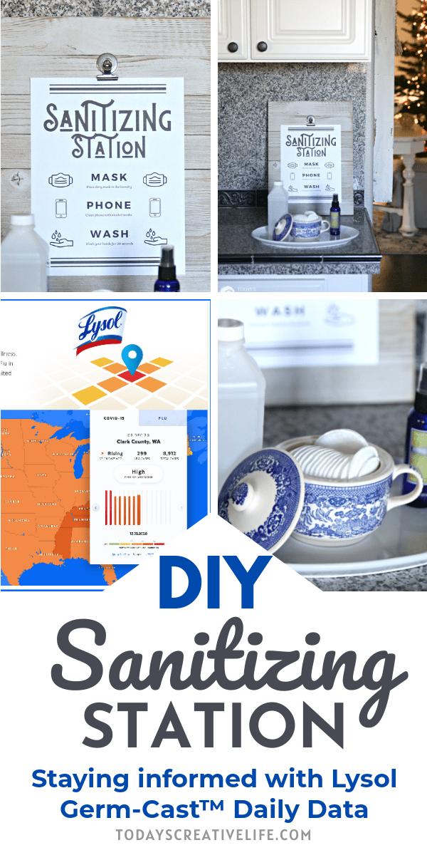 photo collage for Lysol Germ-Cast App