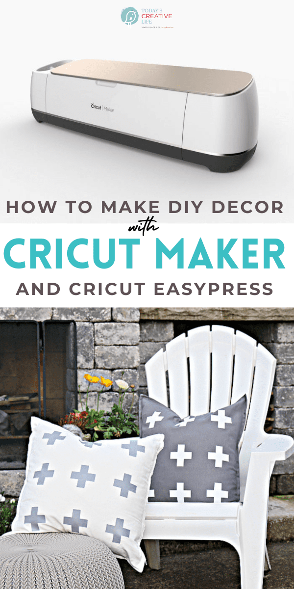 How to Make DIY Patio Ideas using a Cricut Maker Cutting MAchine