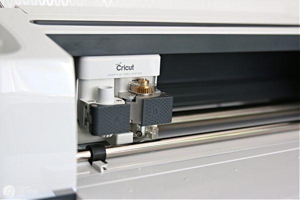 Cricut Maker Cutting Blade chamber