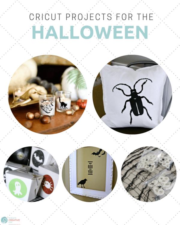 Halloween Cricut crafts using your Cricut photo collage