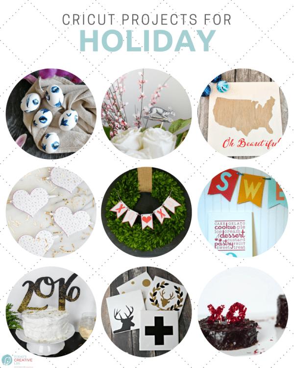 Holiday Ideas using my Cricut