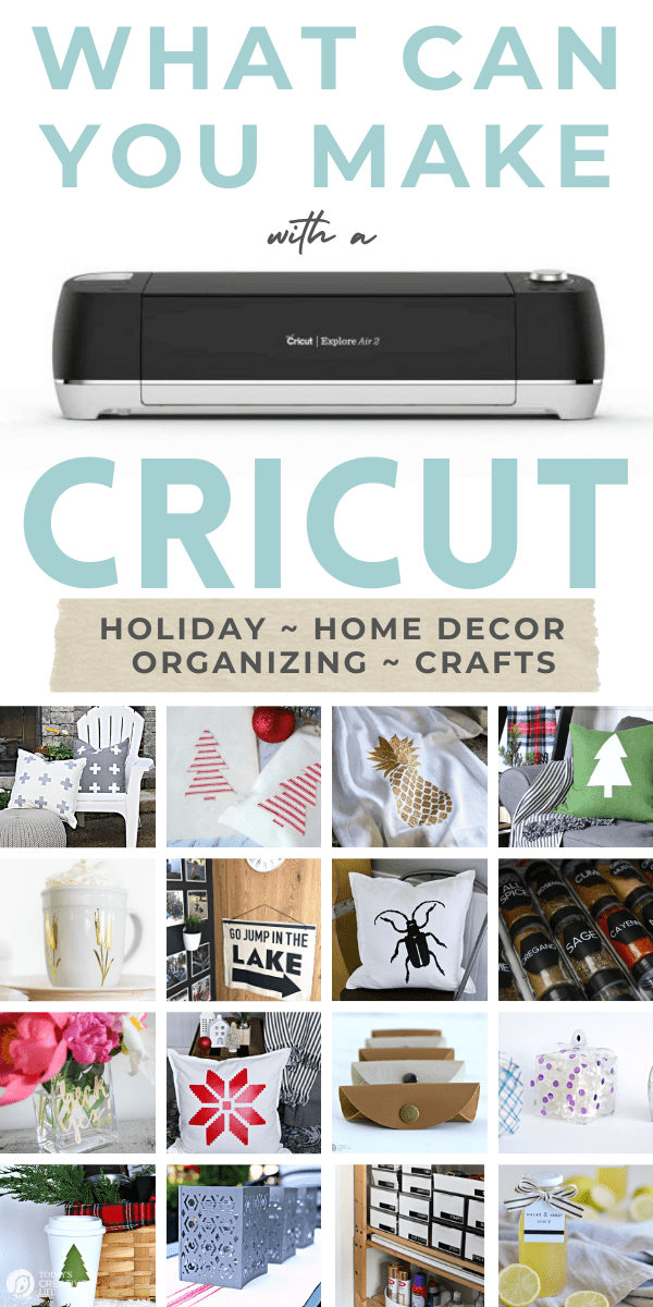 Cricut Projects for Home decor, crafts and more. Photo collage